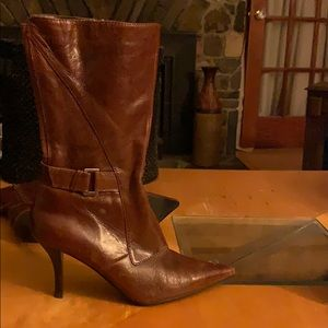 Nine West the Noringo leather boots size 8.5M
